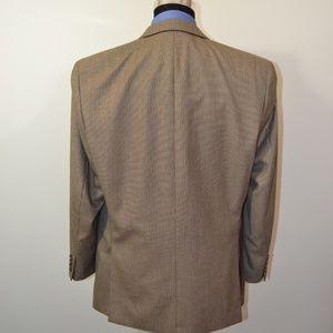 Izod Suits & Blazers - Izod 44R Sport Coat Blazer Suit Jacket Beige Black
